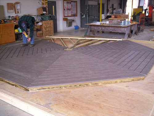 Gazebo Floor Fabrication