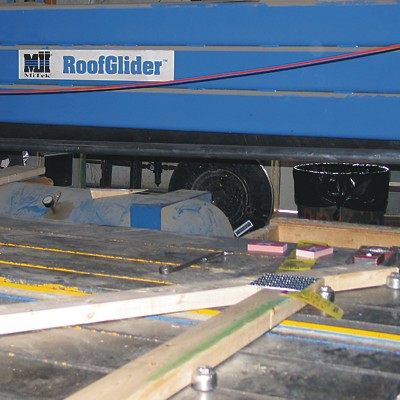 Mitek Roof Glider for Reliable Truss Manufacturing