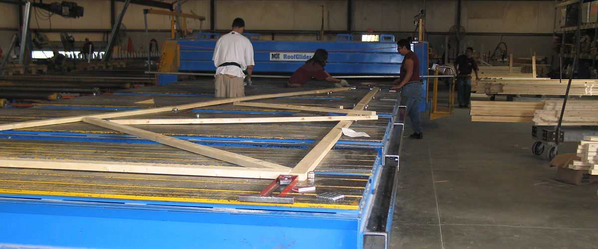 Wood Trusses, Wall Panels, Floor and Roof Trusses | Reliable Truss